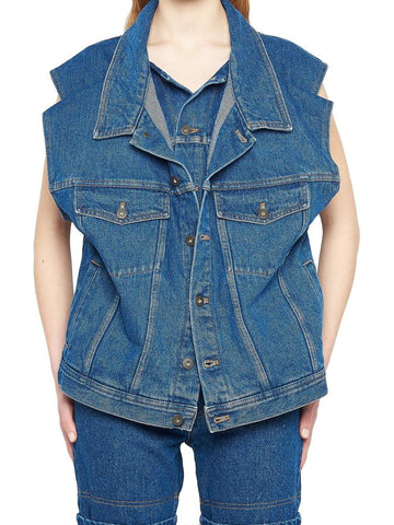 Y / Project Double Denim Vest