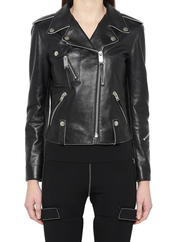 Alyx Grained Moto Jacket
