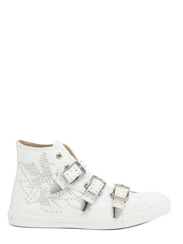 Chloé Kyle Buckle Hi-Top Sneakers