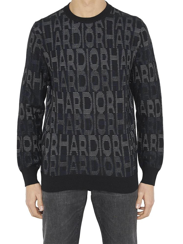DIOR HOMME HARDIOR JACQUARD KNIT SWEATER