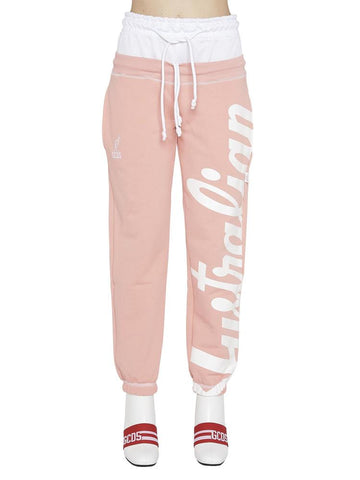 GCDS Layered Look Sweatpants