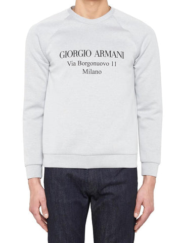 Giorgio Armani Address Print Sweater