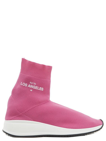 Joshua Sanders Fly To LA Sock Sneakers