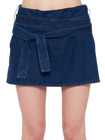 JW Anderson Belted Mini Skirt