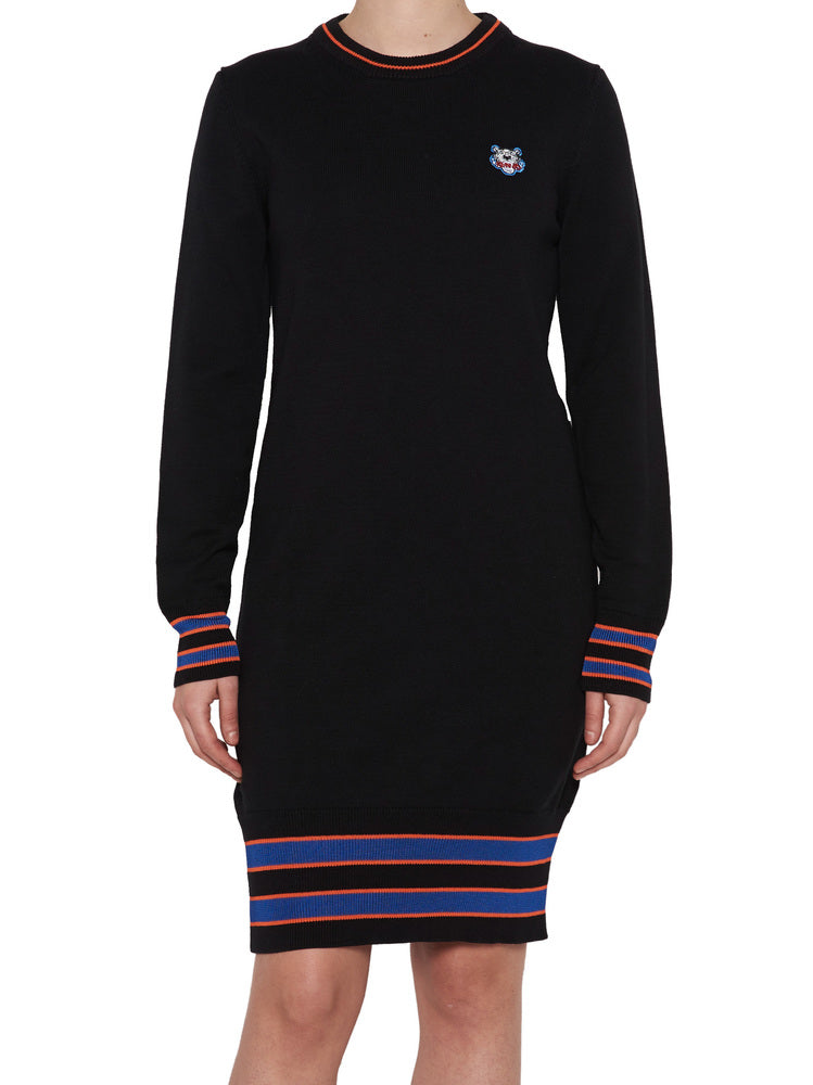af4c30c13f Kenzo Tiger Patch Sweater Dress – Cettire