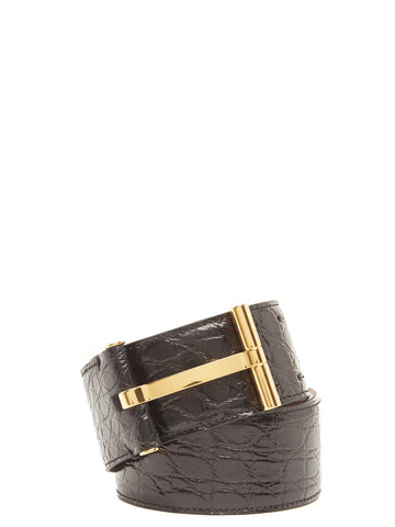 Tom Ford Textured Leather Belt