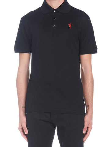 Alexander McQueen Dancing Skeleton Polo Shirt