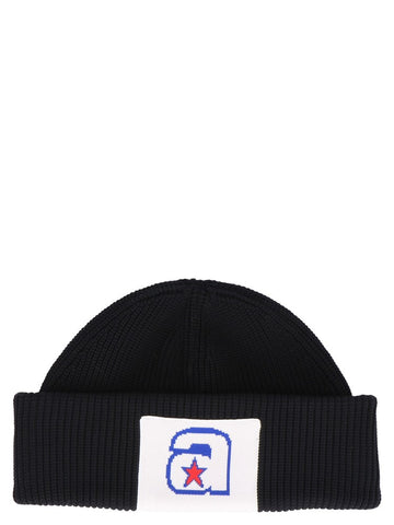 Alexander Wang Patch Knit Beanie