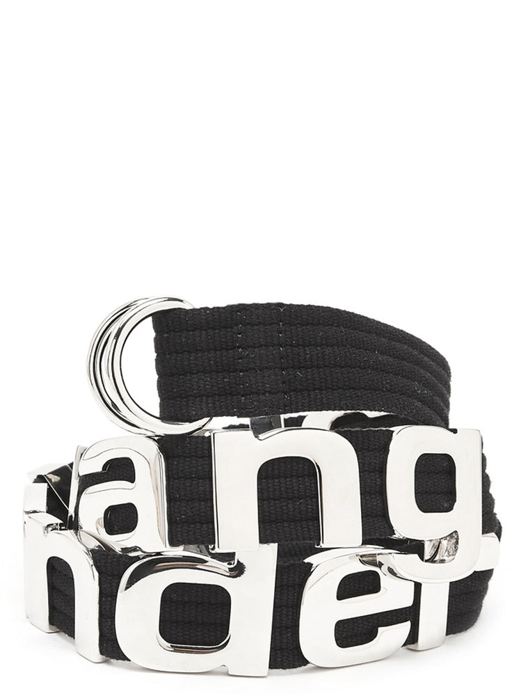 Alexander Wang Metal Logo Belt