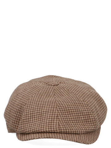 Brunello Cucinelli Houndstooth Hat