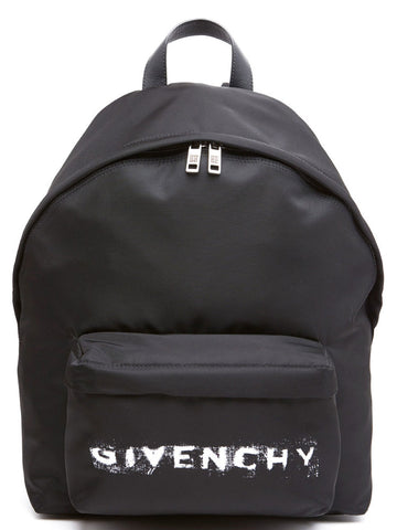 Givenchy Logo Nylon Backpack