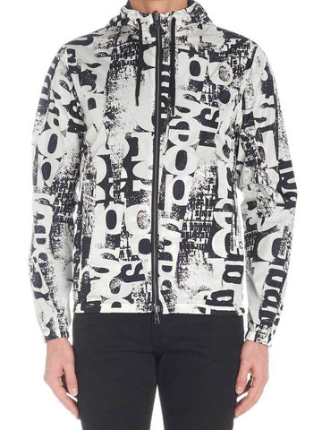 Herno Newspaper Print Jacket