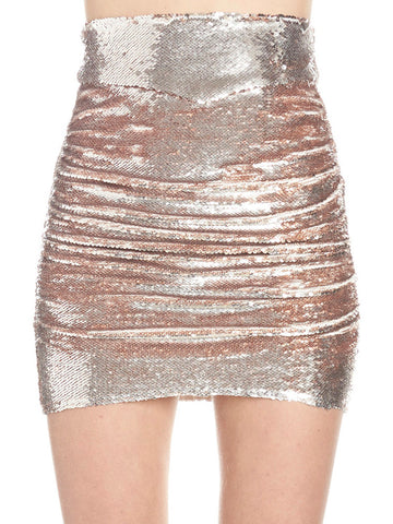 IRO Dreaming Sequinned Skirt