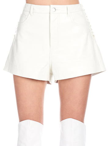 Iro Lace-Up Detail Shorts