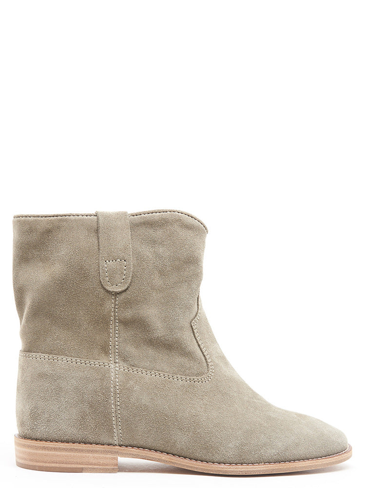 Isabel Marant Crisi Ankle Boots in Beige