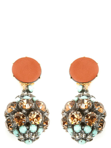 Marni Embellished Drop Earrings