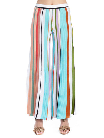 Missoni Pleated Striped Pants