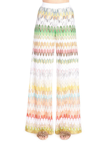 Missoni Patterned Flared Knit Pants