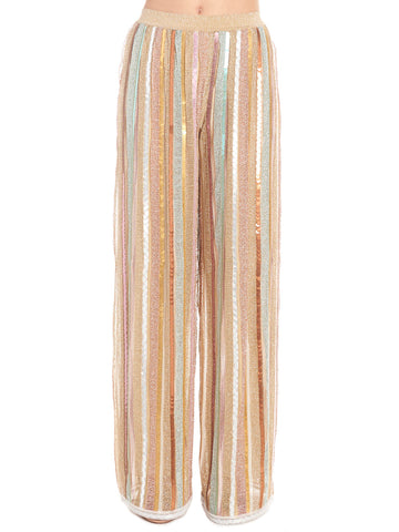 Missoni Striped Wide-Leg Pants