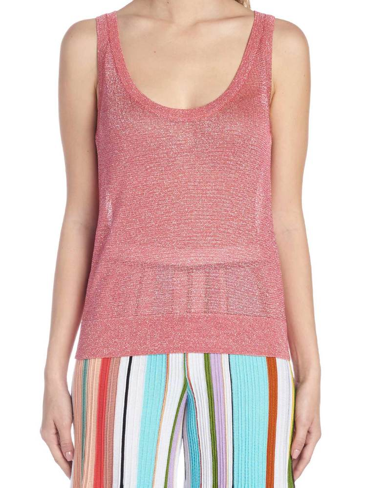 Missoni MISSONI LUREX SLEEVELESS TOP