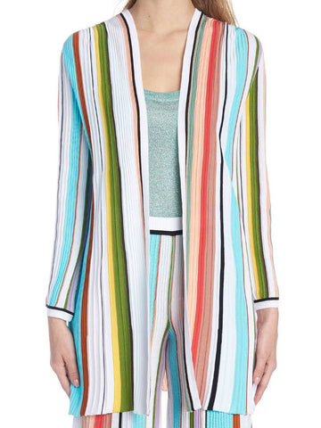 Missoni Colour Block Stripes Cardigan