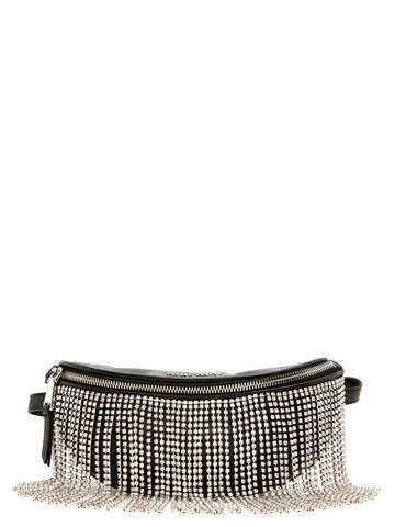 Miu Miu Crystal Fringes Fanny Pack