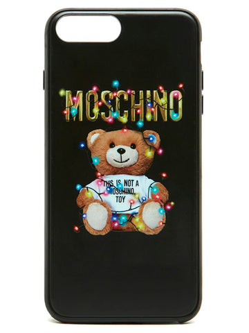 Moschino Logo Print iPhone Case