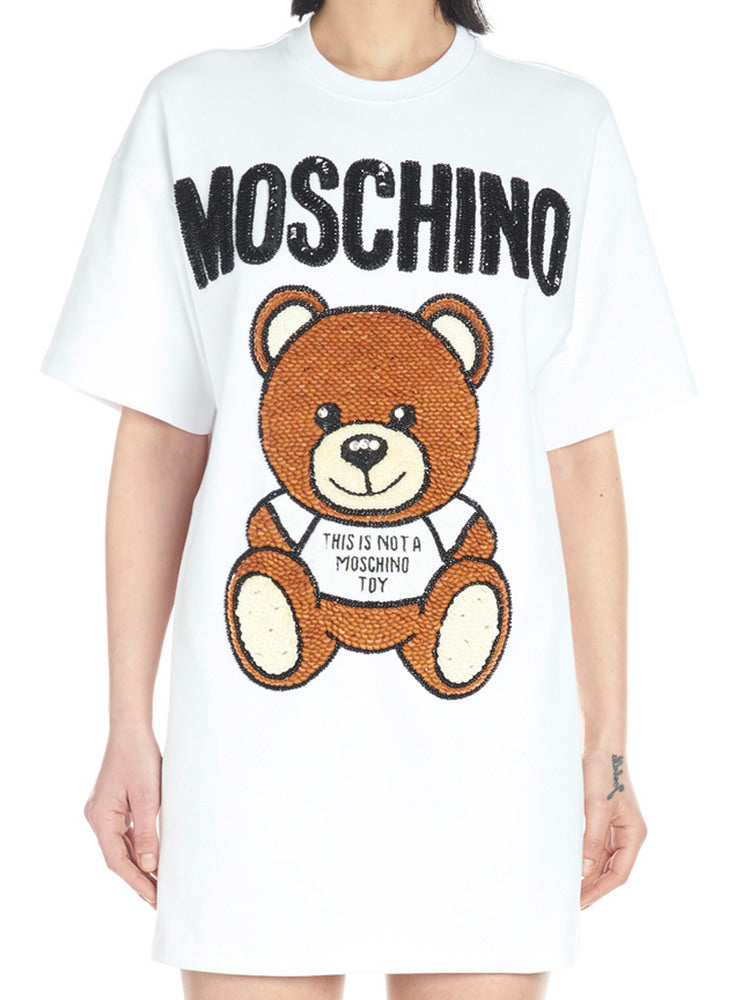 35c5af2d Moschino Teddy Circus T-Shirt Dress – Cettire