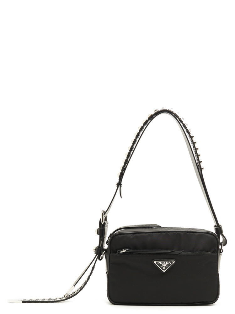 7d34a4b7e14b Prada Studded Strap Shoulder Bag – Cettire