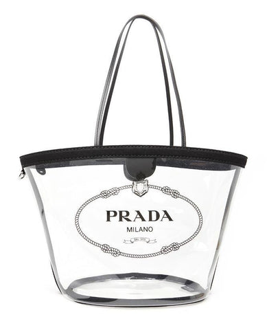 Prada Transparent Shoulder Bag