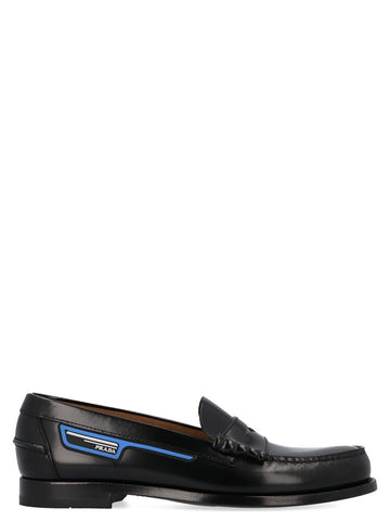Prada Logo Detail Loafers