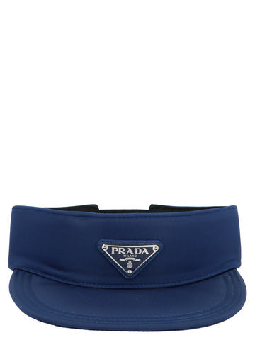 Prada Log Plaque Visor