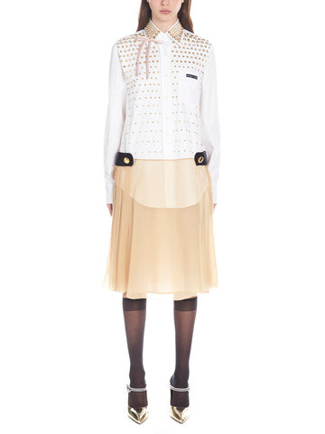 Prada Layered Shirt Dress