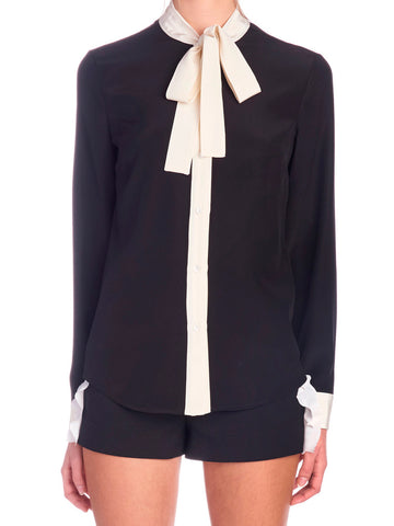 Red Valentino Bow Shirt