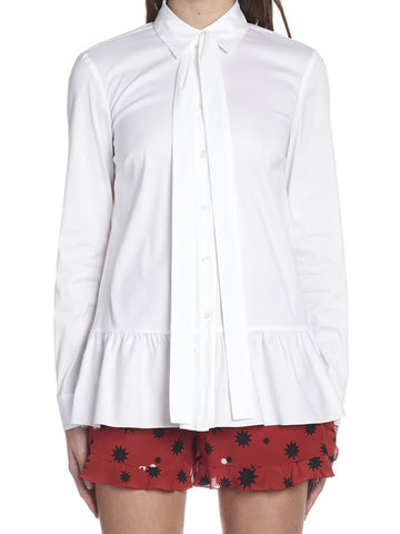 Red Valentino Peplum Shirt