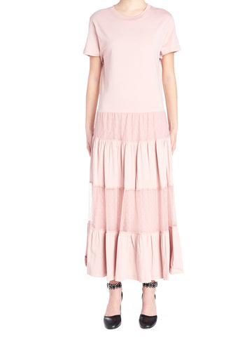 Red Valentino Panelled Midi Dress