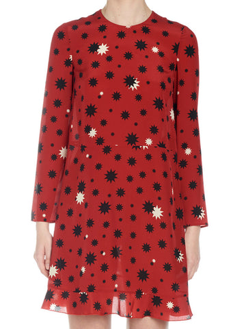Red Valentino Star Print Dress