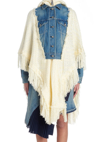 Sacai Denim Knit Jacket