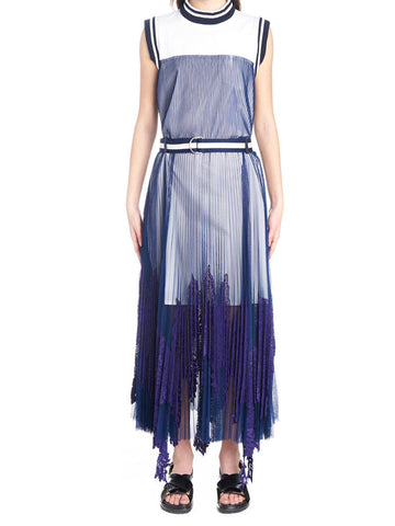 Sacai Textured Midi Dress