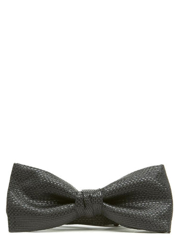 Saint Laurent Stitch Detail Bow Tie