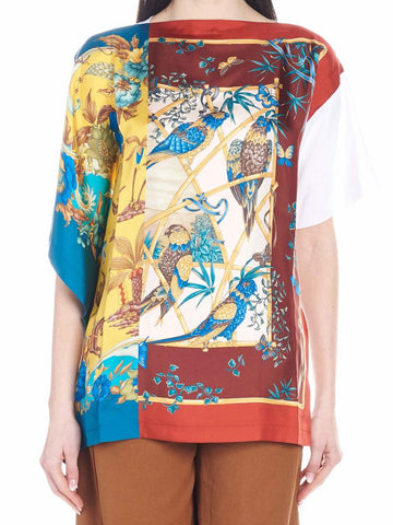 Salvatore Ferragamo Printed Top