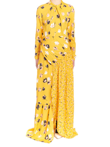 Self-Portrait Floral Maxi Dress
