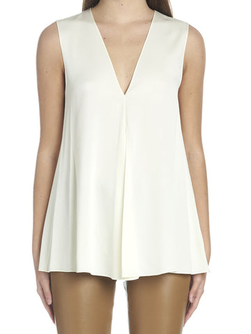 Theory Flared Sleeveless Top