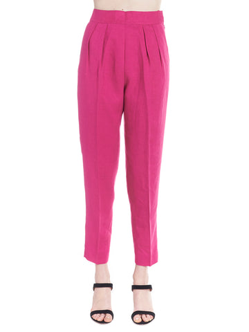 Theory High-Waisted Casual Trousers