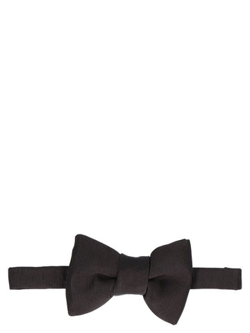 Tom Ford Striped Bow Tie