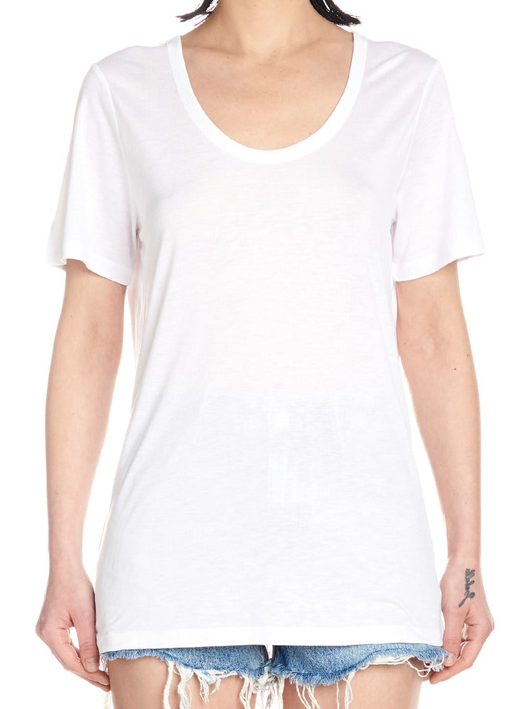 c2acd7fd27764c T By Alexander Wang Round-Neck T-Shirt – Cettire