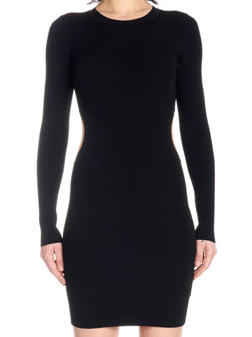 T By Alexander Wang Cut-Out Fitted Dress