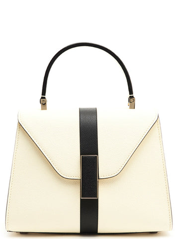 Valextra Stripe Detail Top Handle Bag