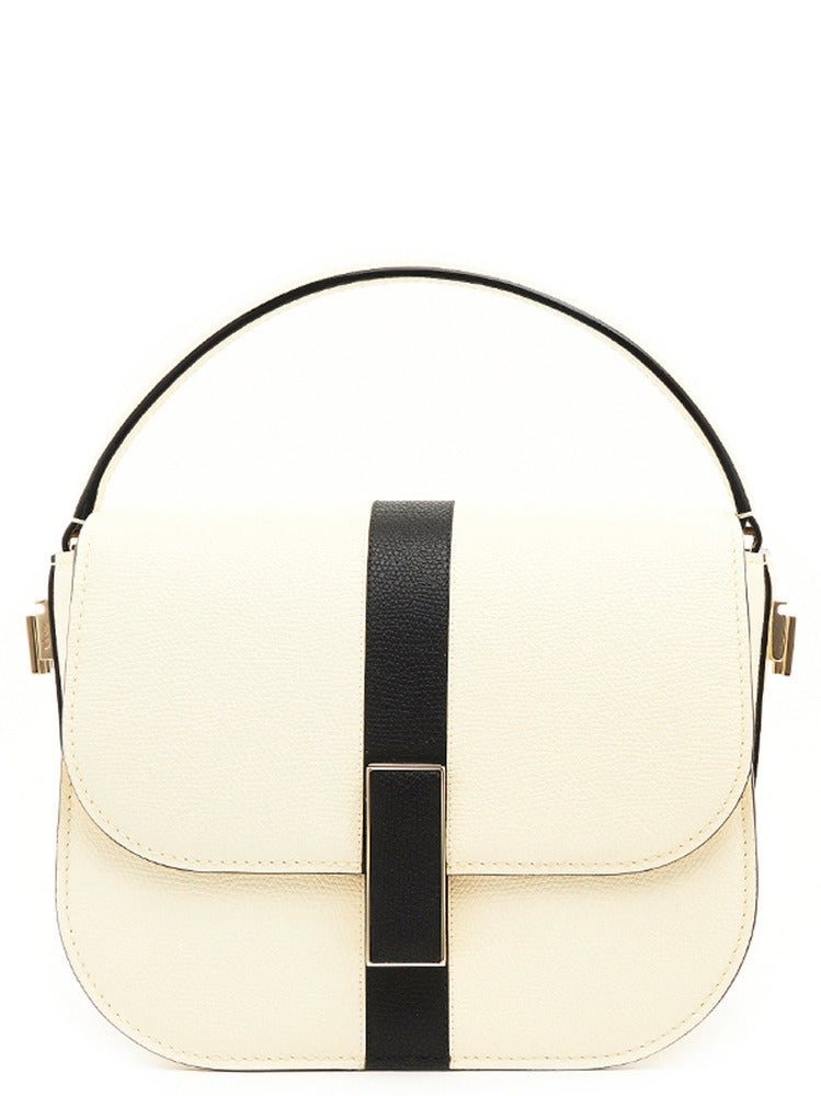 Valextra Stripe Detail Crossbody Bag