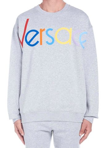 Versace Rainbow Logo Sweater